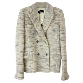 Isabel Marant Woven Double Breasted Jacket
