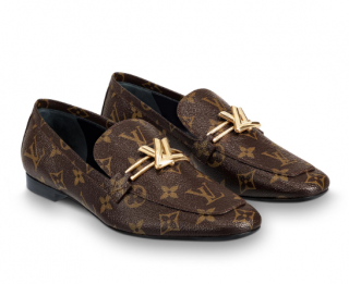 Louis Vuitton Upper Case Flat Loafers