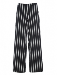Bitte Kai Rand Black & White Striped Pants