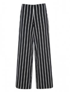 Bitte Kai Rand Black & White Striped Pants