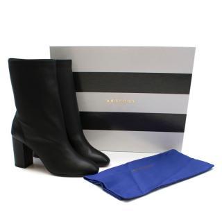 Aquazzura Black Boogie Bootie 85 Heeled Boots