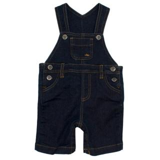 Marie Chantal Boys Carter Denim Romper