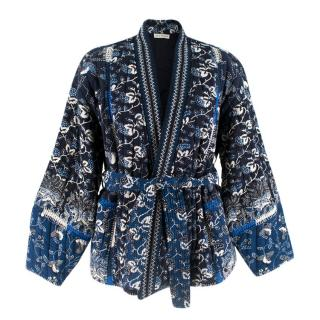 Ulla Johnson Sachi Quilted Printed Cotton Jacket