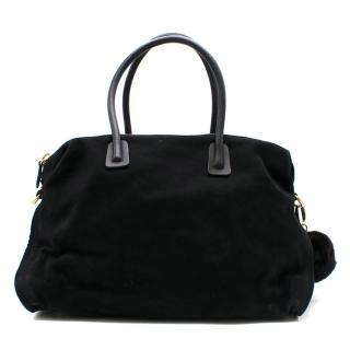 Maiyet Black Como Large Satchel Bag