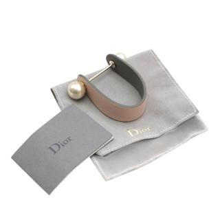 Dior Pink Perles Leather Bracelet