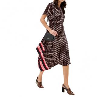 Max & Co. Printed Crepe Tea Dress