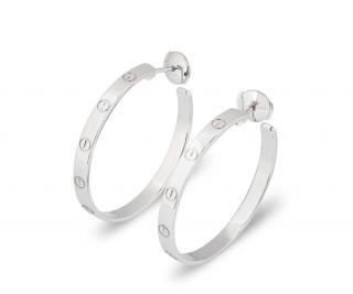 Cartier Gold Love Earrings