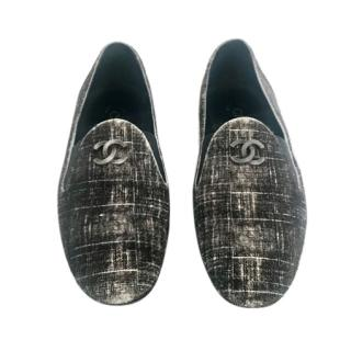 Chanel Pony Skin Natural Loafers