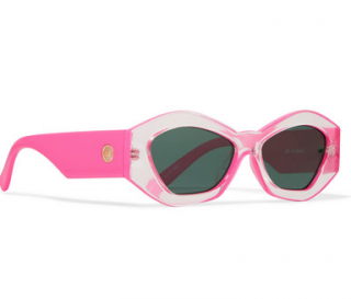 Le Specs Pink The Ginchiest Sunglasses