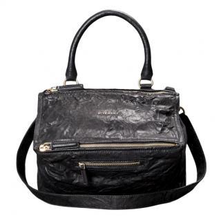 Givenchy Medium Black Lambskin Pandora Bag