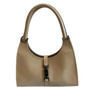 Gucci Beige Leather Jackie Bag