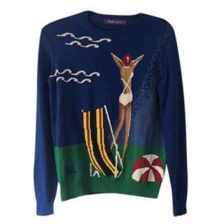 Ralph Lauren Instarsia Knit Jumper
