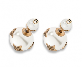 Dior Bee Embellished J'adior Tribales Earrings