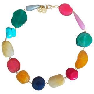 Bimba Y Lola Semi-Precious Stone Necklace