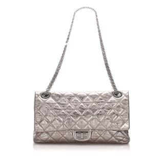 Chanel Metallic Reissue Quilted Leather Double Flap
