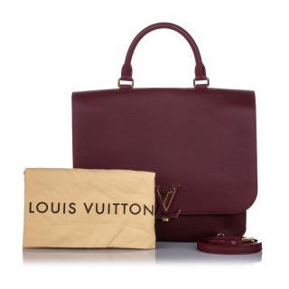 Louis Vuitton Taurillon Volta Top Handle Satchel
