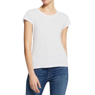 L'Agence White Cory T-shirt