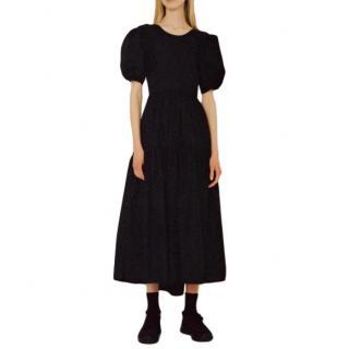 Cecile Bahnsen Black Karoline Midi Gown