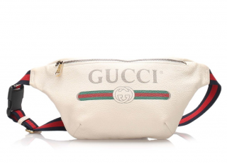 Gucci Vintage Logo Leather Belt Bag