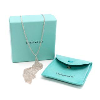 Tiffany & Co Sterling Silver Mesh Necklace