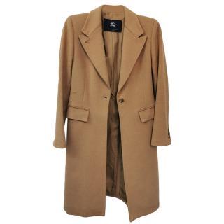 Burberry Alpaca, Wool & Cashmere Camel Coat