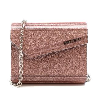 Jimmy Choo Ballet Pink Candy Mini Cross Body Bag