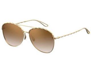 Elie Saab ES008S Gold Sunglasses