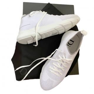 Dior White Mesh Sneakers