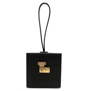 Moynat Black Mini Vanity Bag