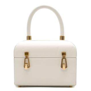 Gabriela Hearst White Leather Patsy Bag