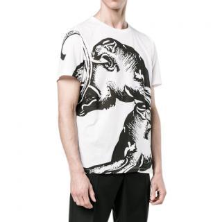 Valentino Black & White Printed T-Shirt