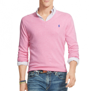 Polo Ralph Lauren Cotton V Neck Jumper