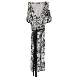 MaxMara floral print dress