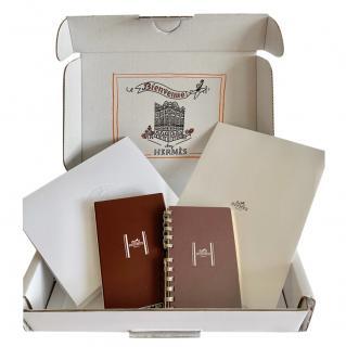 Hermes blank agenda refill set