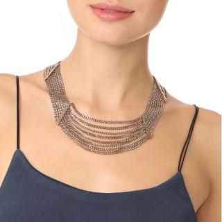 Lulu Frost Chain Draped Necklace