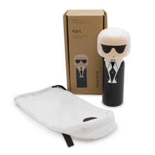 Lucie Kaas Sketch.inc Karl Lagerfeld wooden kokeshi doll