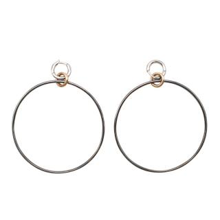 Spinelli Kilcollin 18k gold altaire hoop earrings