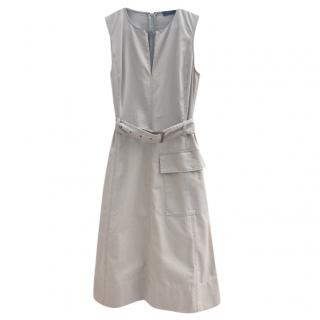 Polo Ralph Lauren Belted Cotton Dress