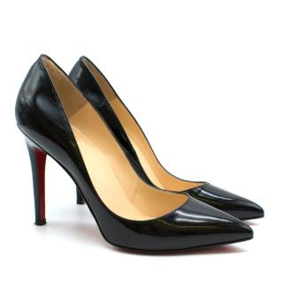 Christian Louboutin So Kate Black Patent Leather Pumps