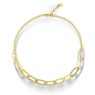 Salvatore Plata Gold Plated Chain Link Necklace