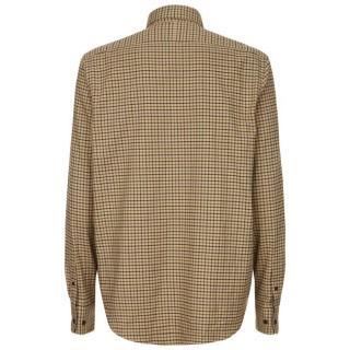 Le Chameau Swinbrook Shirt in Beige Check