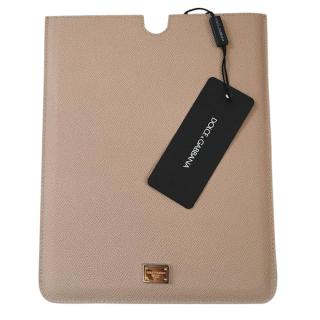 Dolce & Gabbana nude leather iPad Tablet Case