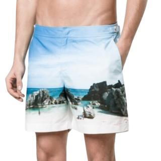 Orlebar Brown Bulldog Rocky Beach Swim Shorts