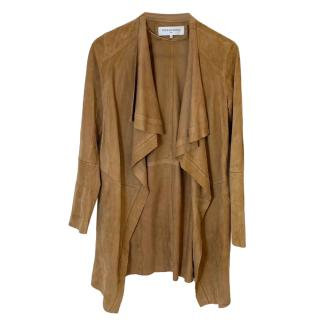Gerard Darel Suede Waterfall Jacket