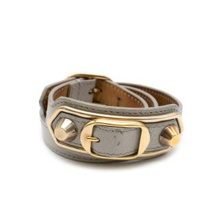 Balenciaga Grey Triple Tour Bracelet