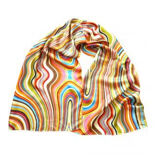 Paul Smith Archive Multicoloured Printed Scarf