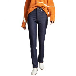 Khaite Victoria Straight Leg Denim Jeans