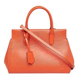 Louis Vuitton Piment Orange Epi Leather Marly BB