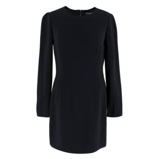 Dolce & Gabbana Black long sleeve classic mini dress