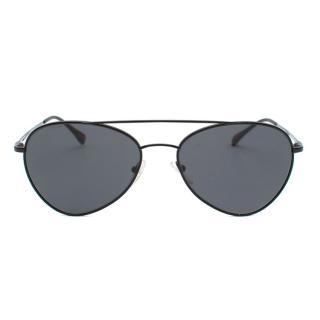 Black Prada Linea Rossa Pilot Sunglasses